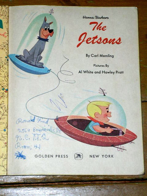 The Jetsons,  First Printing, Little Golden Book