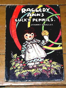 Raggedy Ann's Lucky Pennies  Book