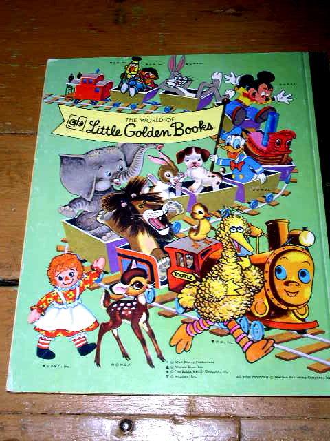 Raggedy Ann and Andy, The Little Grey Kitten, Little Golden Book
