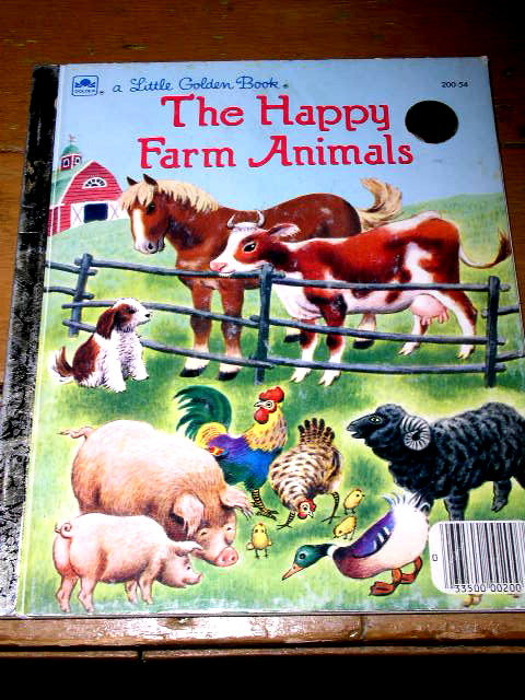 The Happy Farm Animals, Little Golden Book