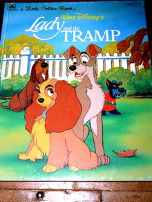 Lady and The Tramp, Little Golden Book