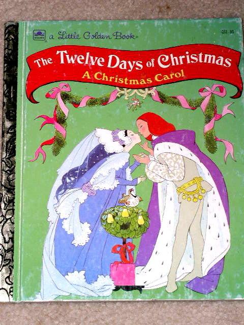 Twelve Days of Christmas,  Little Golden Book,