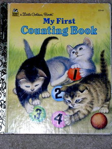My First Counting Book,  Little Golden Book,