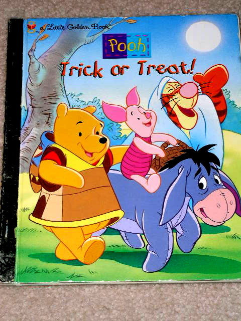 Pooh, Trick or Treat,  Little Golden Book,