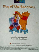 Pooh, King of the Beasties,  Little Golden Book,