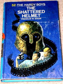 The Shattered Helmet,  Hardy Boys Book,