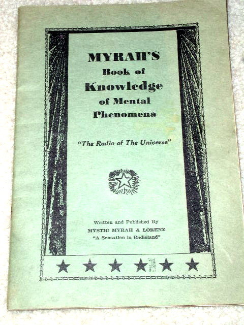 Myrah's Book of Knowledge of Mental Phenomena