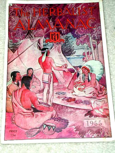 The Herbalist Almanac Book