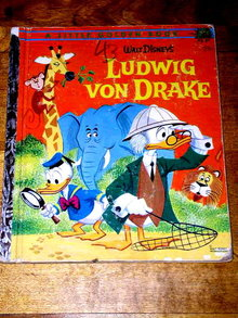 Ludwig von Drake,  A Disney Little Golden Book