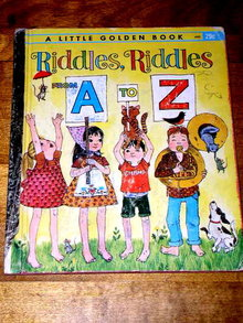 Riddles, Riddles From A to Z,  Little Golden Book