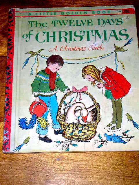 The Twelve Days of Christmas,  Little Golden Book