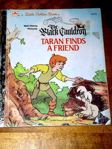 Disney's The Black Cauldron, Taran Finds a Friend,  Little Golden Book