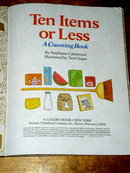 Ten Items or Less,  Little Golden Book