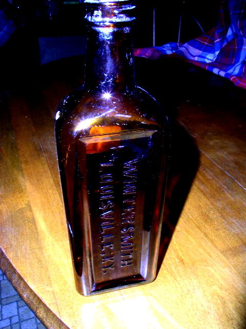 Wintersmith Brown Medicine Bottle, KY