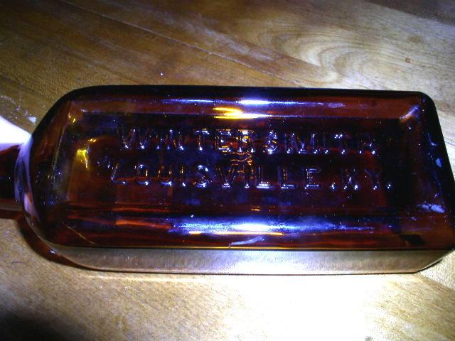 Wintersmith Brown Medicine Bottle, KY