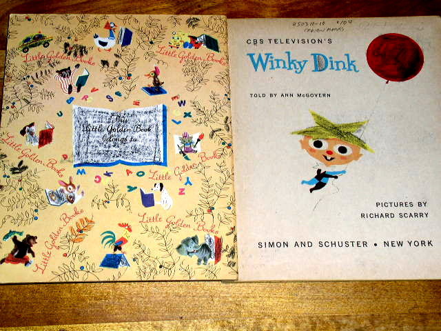 Winky Dink,   Little Golden Book