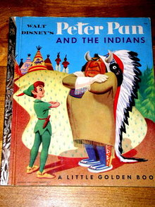 Disney's Peter Pan and the Indians,  Little Golden Book