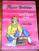 Trixie Beldon, The Mysterious Code  Book