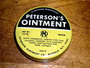 Peterson's Ointment Tin