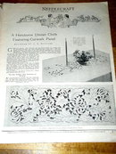 Needlecraft Magazine, February 1930  -  MZ