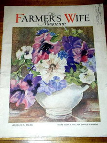 The Farmer's Wife Magazine, August 1936  -  MZ