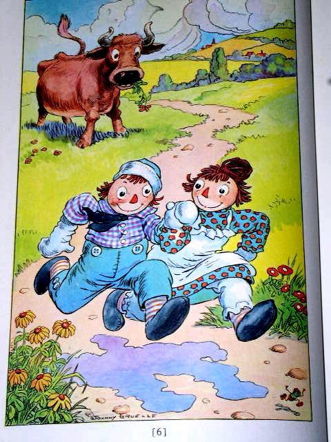 Raggedy Ann's Magical Wishes  Book