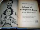 Shirley Temple, Rebecca of Sunnybrook Farm   Book