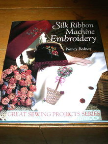 Silk Ribbon Machine Embroidery, Quilt Book -  QK