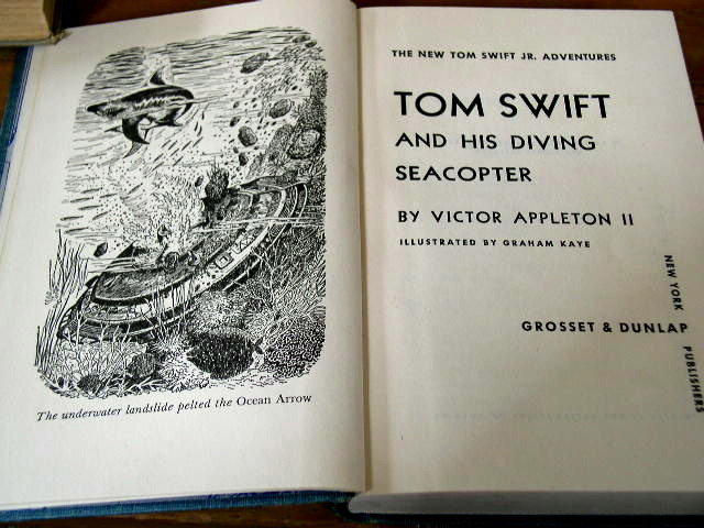 Tom Swift and his Diving Seacopter,    Book