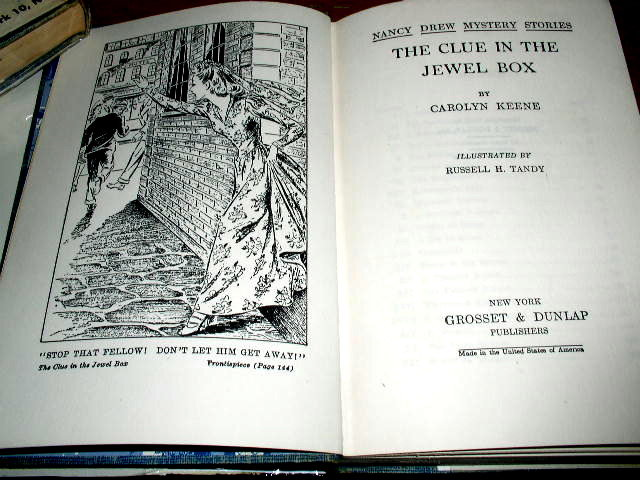 Nancy Drew, The Clue In The Jewel Box