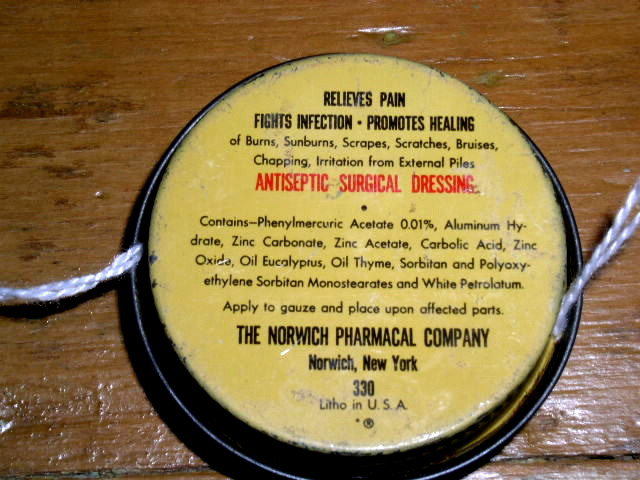 Unguentine Ointment Sample Tin