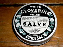 Cloverine  Ointment  Tin