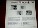 Pinocchio Soundtrack -   L P Record