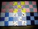 Vintage Quilt Blocks,  Nine Patch   - QB
