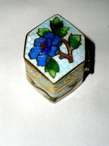 Cloisonne' Pill Box