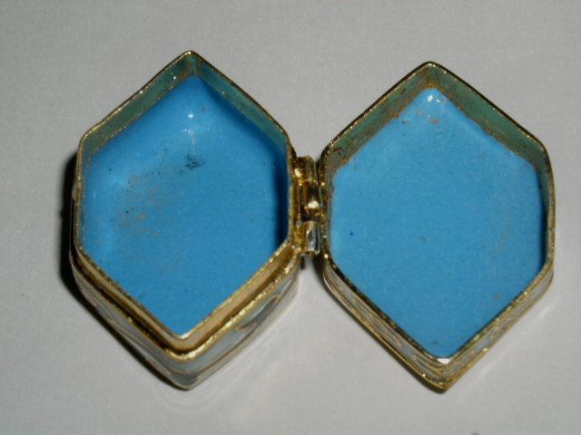 Cloisonne' Pill Box