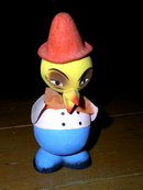 Easter Candy Container Chick With Nodding Head