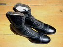 Victorian Black High Top Womans Shoes