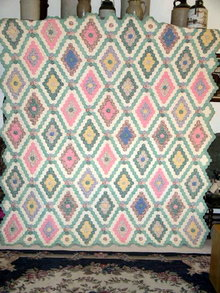 Grandmother's Flower Garden Quilt  - QLT
