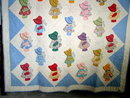 Appliqued Sun Bonnet Sue Quilt  -  QLT