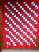 Bow Tie Quilt Top  -  QTP