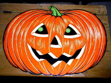 Large Jack-O-Lantern Die Cut,  Halloween
