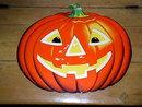 Jack-O-Lantern Die Cut,  Halloween