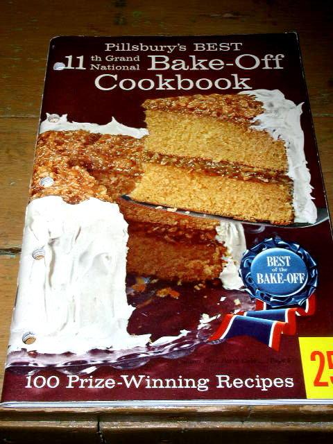Pillsbury's Best 11th Grand National Bake-Off  Cook Book   -  CK