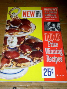 Pillsbury's Best 4th Grand National Bake-Off  Cook Book   -  CK