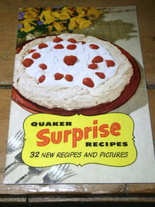 Quaker Surprise Recipies Cook Book   -  CK