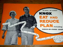 Knox Eat and Reduce Plan  Cook Book   -  CK