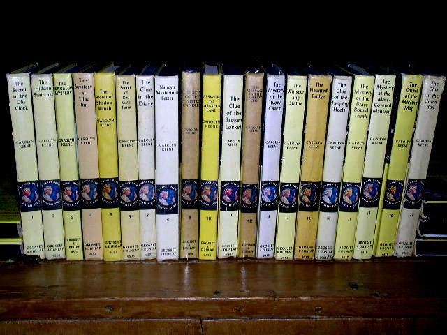 Nancy Drew, Complete Set of 57 Books