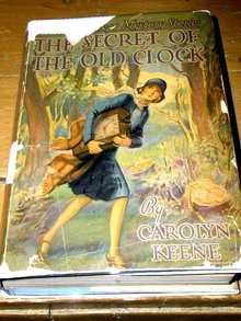 Nancy Drew,  The Secret of the Old Clock Book,  First Edition.