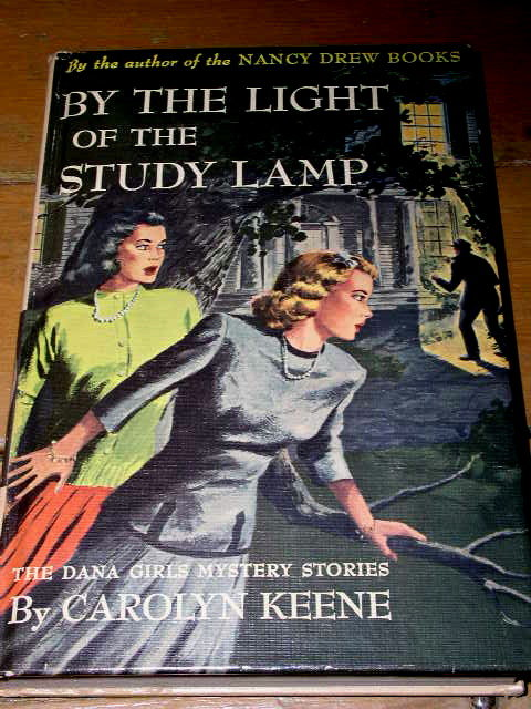 Dana Girls Book, By The Light of the Study Lamp